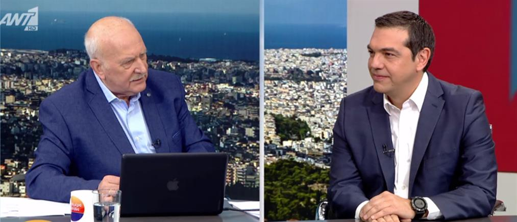 Η συνέντευξη Τσίπρα στον ΑΝΤ1 (βίντεο)