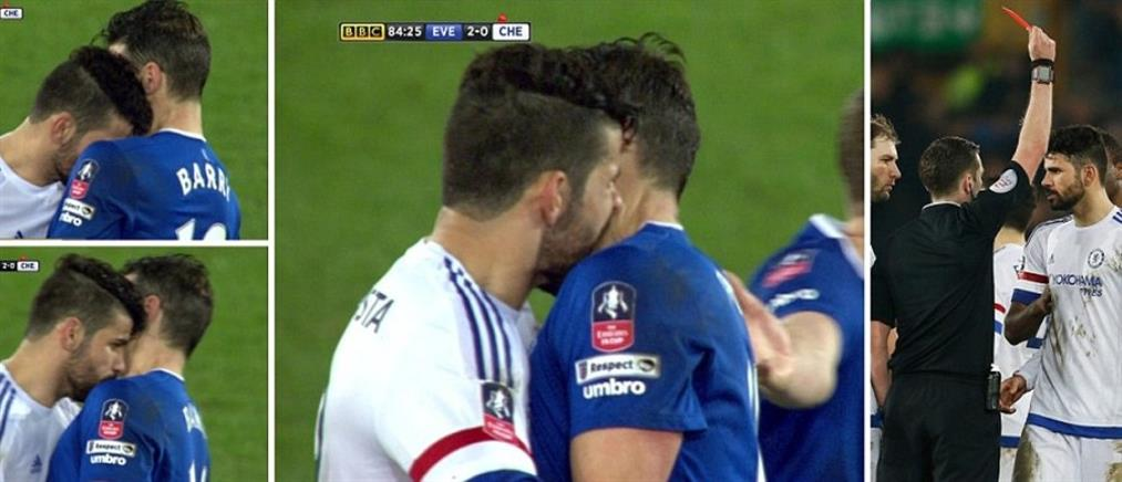 Ο Ντιέγκο Κόστα αποβλήθηκε επειδή… δάγκωσε αντίπαλο! (Βίντεο)