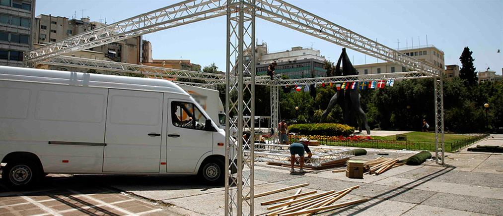 Κόντρα για τα προεκλογικά περίπτερα στην Αθήνα