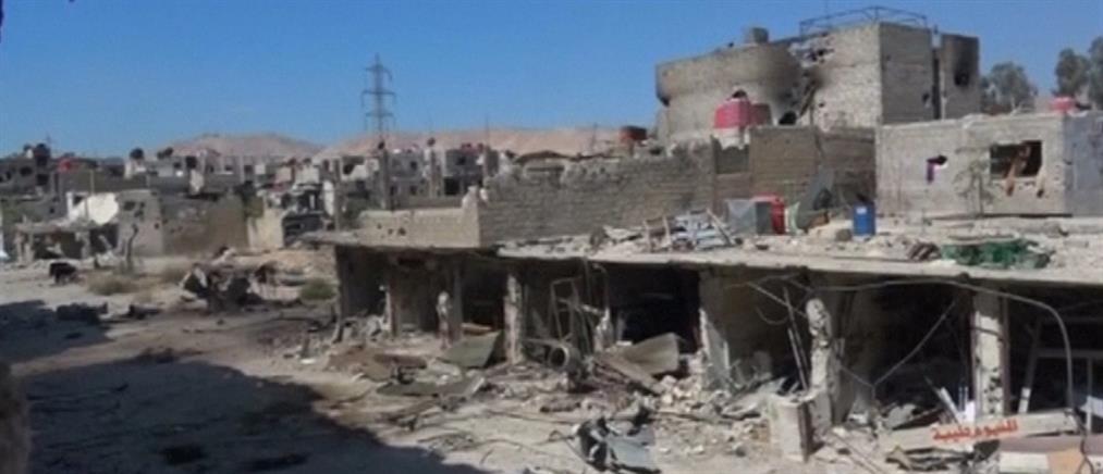 Επιθέσεις και από τα δύο μέτωπα στη Συρία