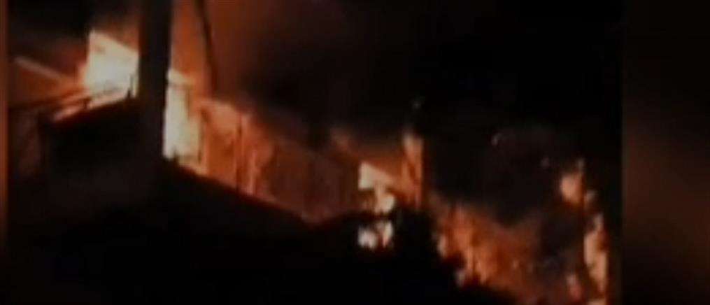 Διαμέρισμα καταστράφηκε ολοσχερώς από φωτιά