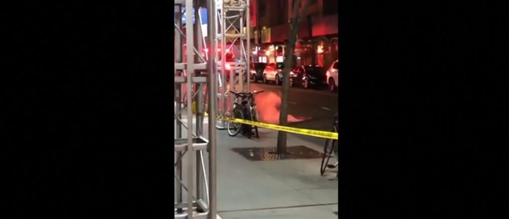 Αναστάτωση από εκρήξεις σε φρεάτια (βίντεο)
