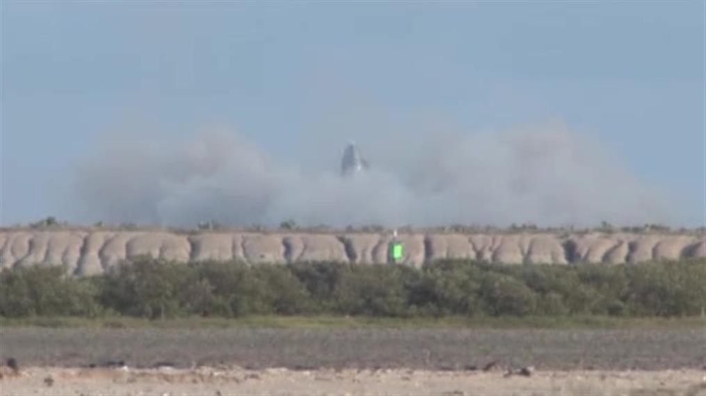 SpaceX: Προσγειώθηκε αλλά μετά εξερράγη