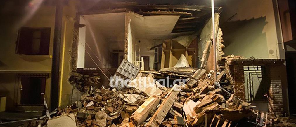 Θεσσαλονίκη: κατάρρευση σπιτιού λόγω κακοκαιρίας