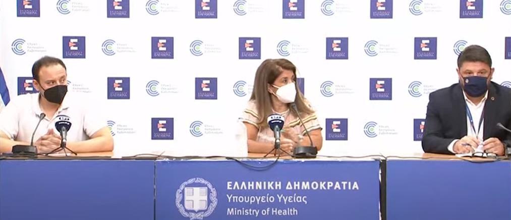Κορονοϊός: Παπαευαγγέλου - Χαρδαλιάς για τα νέα μέτρα και την έξαρση στα κρούσματα (βίντεο)
