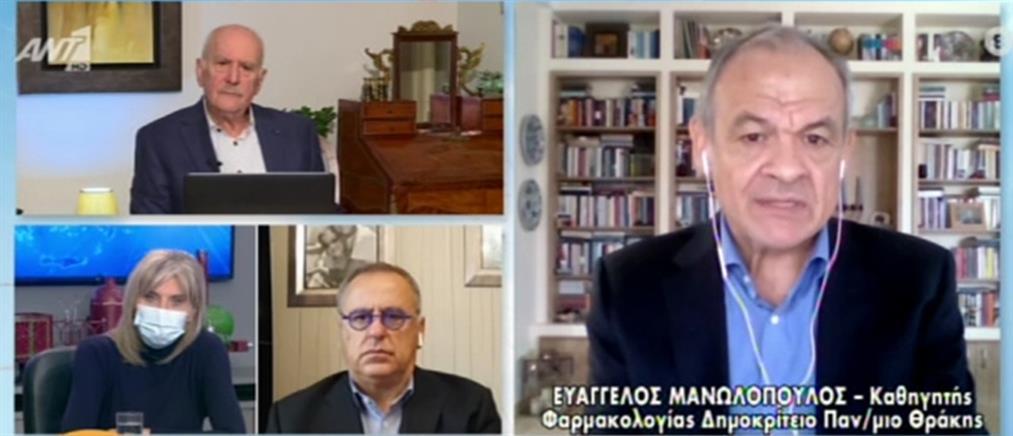 Μανωλόπουλος: Μάσκες και αποστάσεις και μετά τον εμβολιασμό