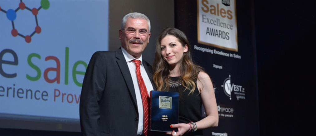 Sales Excellence Awards 2016: διάκριση για δεύτερη συνεχή χρονιά της Online sales