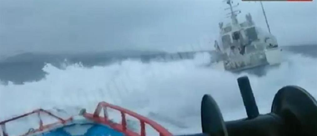 Ίμια: τουρκική ακταιωρός παρενόχλησε Έλληνες ψαράδες (βίντεο)