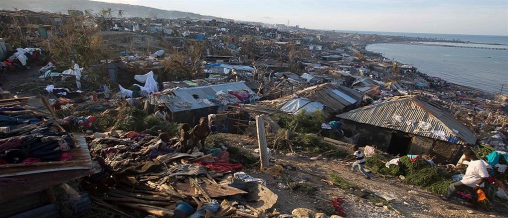 Καταστροφικό το πέρασμα του κυκλώνα Μάθιου από την Αϊτή