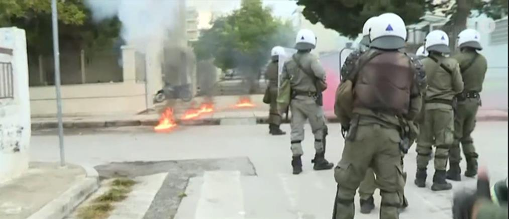 Επεισόδια στο ΕΠΑΛ Σταυρούπολης: Τραυματισμοί και συλλήψεις (εικόνες)