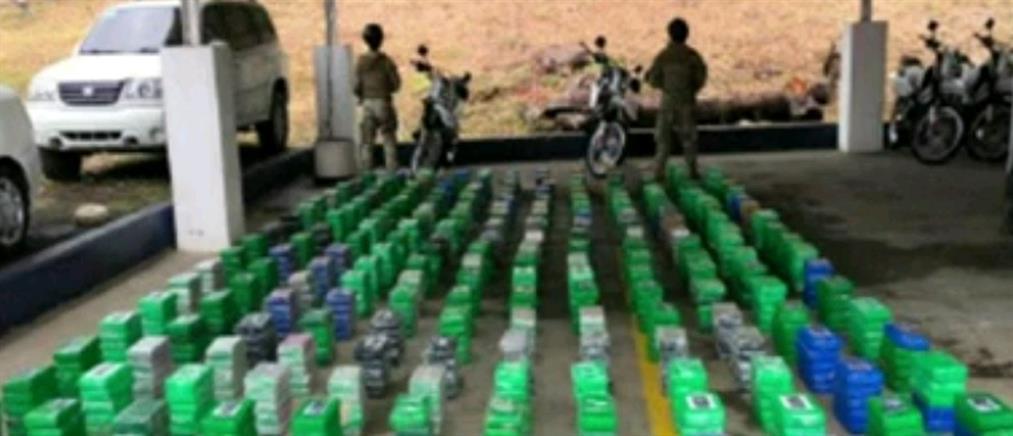 Κοκαΐνη σε ποσότητα ρεκόρ βρέθηκε στην Κολομβία (εικόνες)