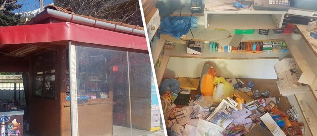 """Απίστευτο! Η μεγαλύτερη κλοπή στο Καρπενήσι έγινε κάτω από την """"μύτη"""" των αστυνομικών (βίντεο)"""