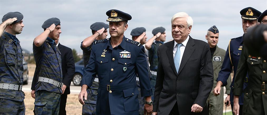Παυλόπουλος: Η Πολεμική Αεροπορία είναι δύναμη αποτροπής
