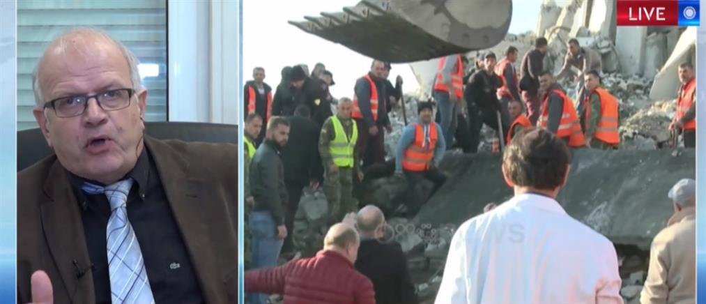 Τσελέντης στον ΑΝΤ1 για τον σεισμό στην Αλβανία: δεν υπάρχει ανησυχία για την Ελλάδα (βίντεο)