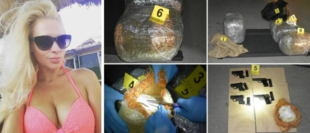 Συνελήφθη γνωστό μοντέλο για ναρκωτικά και όπλα (εικόνες)