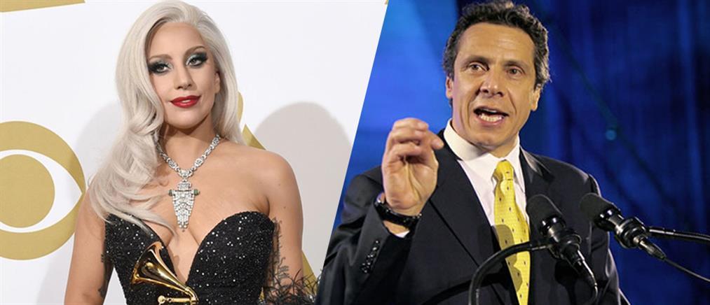 Η Gaga και o κυβερνήτης της Ν.Υ. ενώνουν τις δυνάμεις τους