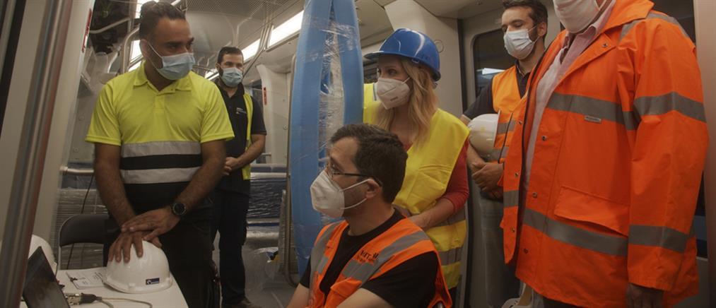 "VICE Specials στον ΑΝΤ1: ""Μέσα στο μετρό της Θεσσαλονίκης"" (εικόνες)"