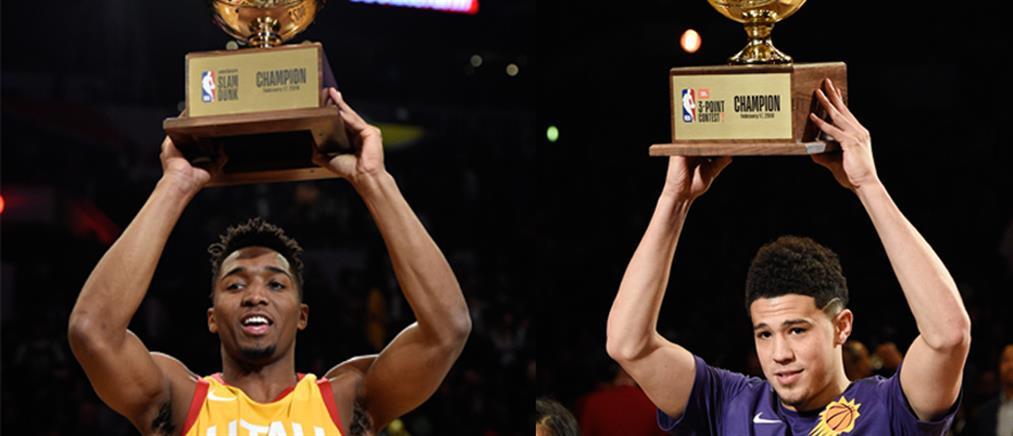 All Star NBA: οι νικητές στα καρφώματα και στα τρίποντα (βίντεο)