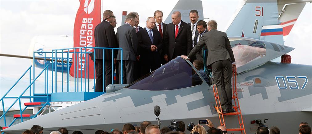 "RIA: αγορά ""αόρατων"" ρωσικών μαχητικών εξετάζει η Τουρκία"