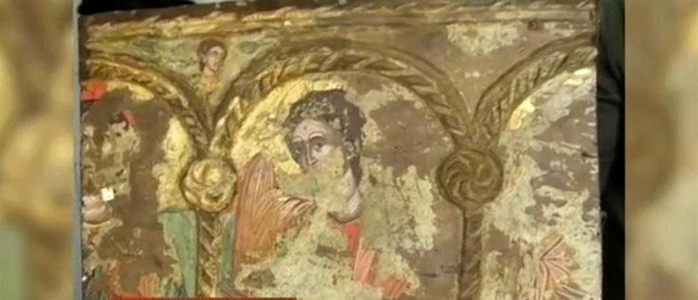 Επαναπατρισμός εικόνας ανεκτίμητης αξίας που είχαν κλέψει ιερόσυλοι (βίντεο)