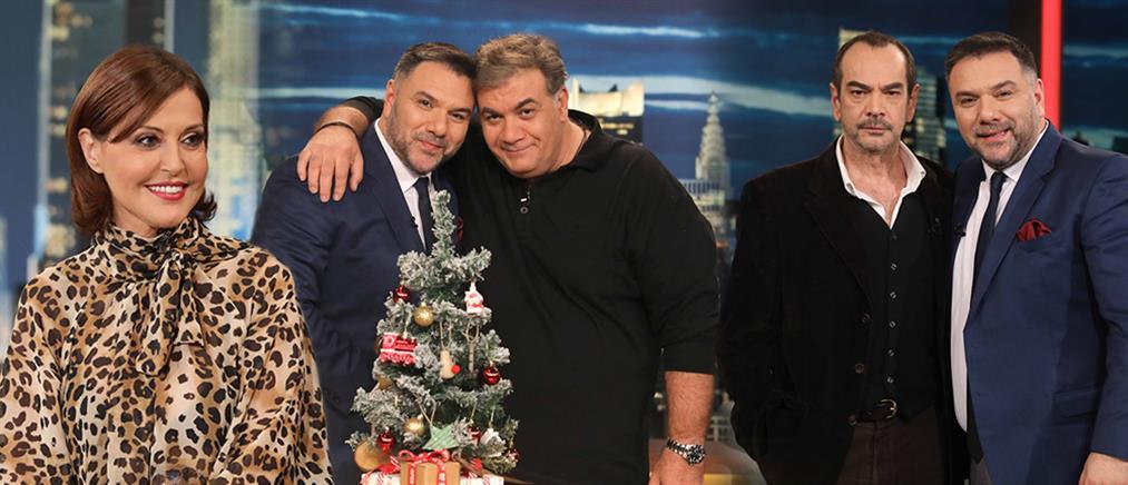 """Ο Δημήτρης Σταρόβας... επιστρέφει στο """"The 2Night Show"""" (εικόνες)"""