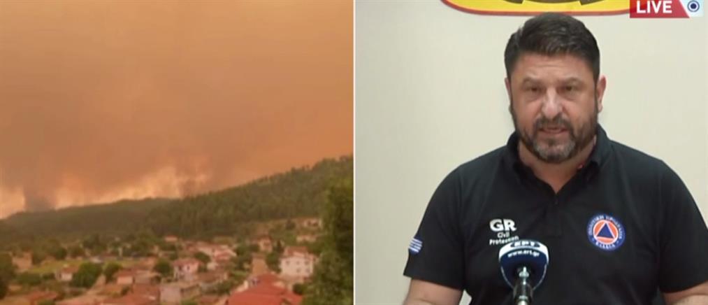Φωτιές: Δηλώσεις Χαρδαλιά για την Εύβοια και την Πελοπόννησο