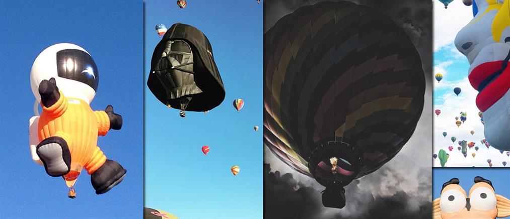 «Παλέτα» από αερόστατα ο ουρανός του Νέου Μεξικού