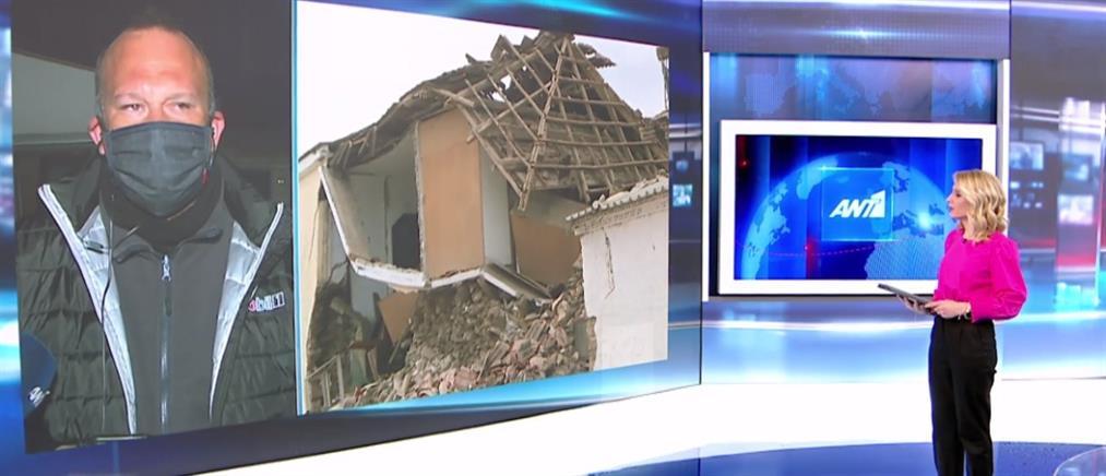 Σεισμός - Δαμάσι: Η εφιαλτική αποτίμηση του κοινοτάρχη στον ΑΝΤ1 (βίντεο)