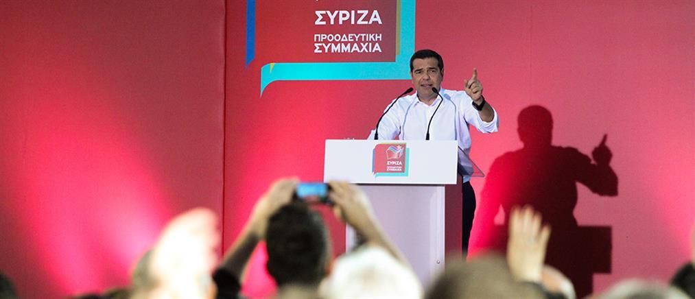 Τσίπρας: Το ψηφοδέλτιο της ΝΔ γράφει πάνω 7ήμερη εργασία
