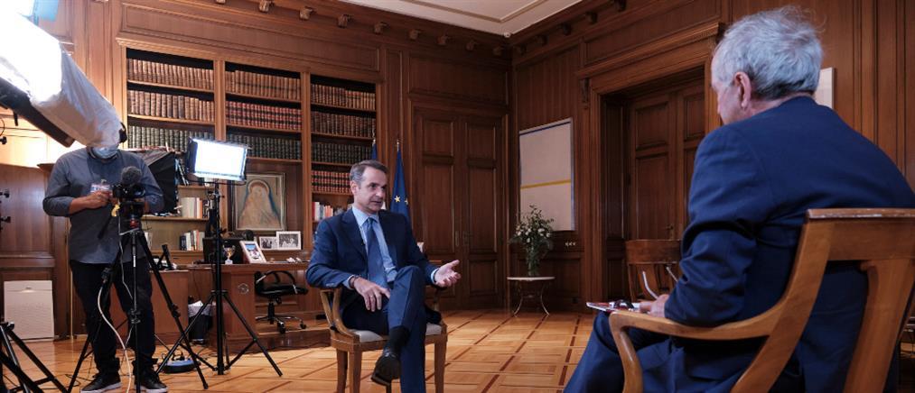 Μητσοτάκης: Η Τουρκία θα διαλέξει αν θέλει διάλογο ή να έχει απέναντι της την Ευρώπη
