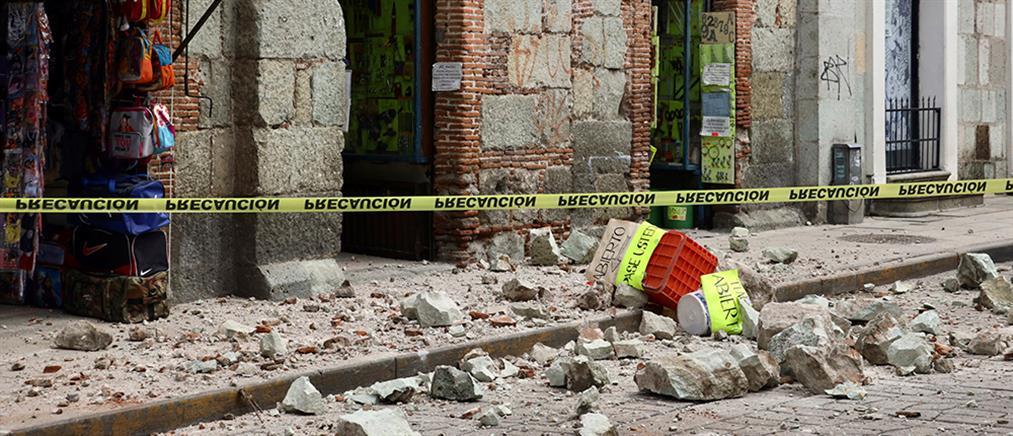 Μεξικό: Νεκροί και καταστροφές από τον ισχυρό σεισμό (εικόνες)
