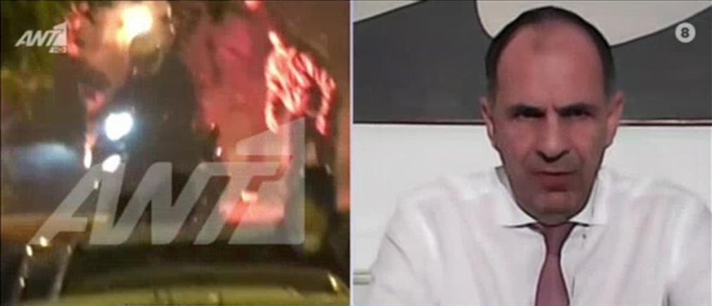 Γεραπετρίτης στον ΑΝΤ1: υπάρχει πολιτικός εναγκαλισμός με φαινόμενα που παράγουν βία (βίντεο)