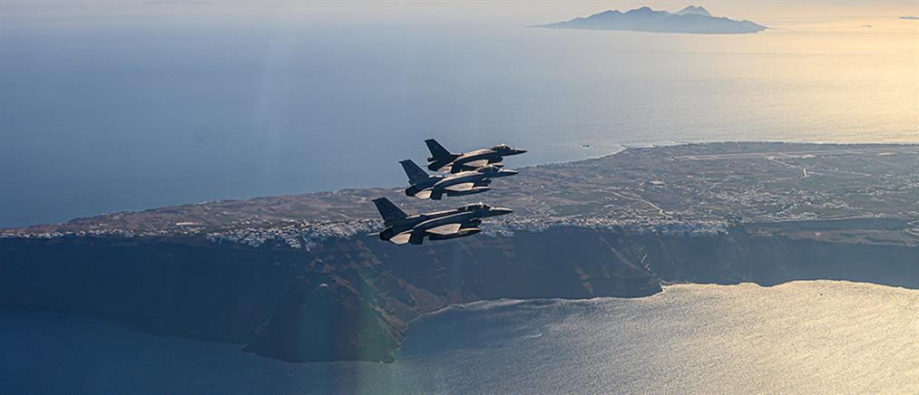 """Οι Τούρκοι """"έστησαν"""" παρενόχληση του """"Τσεσμέ"""" από ελληνικά F-16"""