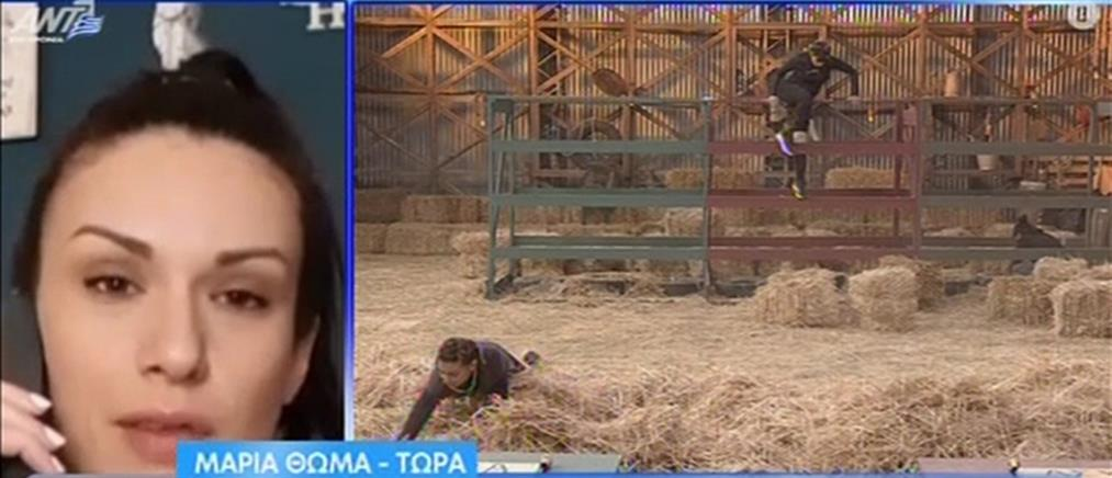 """Η Μαρία Θωμά για την """"Φάρμα"""", τις συνωμοσίες και τις αποχωρήσεις (βίντεο)"""