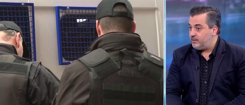 """Ρήγας στον ΑΝΤ1 για αστυνομικές επιχειρήσεις: Με """"χάδια"""" δεν έχουμε αποτελέσματα (βίντεο)"""