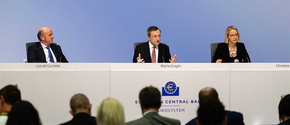 ΕΚΤ: Μείωση επιτοκίων και νέα ποσοτική χαλάρωση