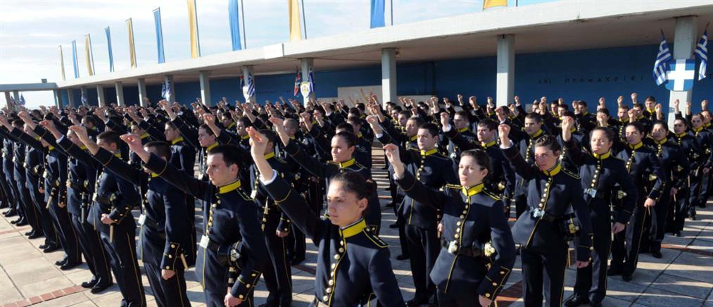 Ο αριθμός των εισακτέων στις Στρατιωτικές Σχολές