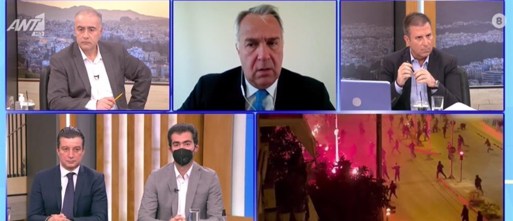 Βορίδης στον ΑΝΤ1: Να τελειώνουμε με την βία της άκρας αριστεράς