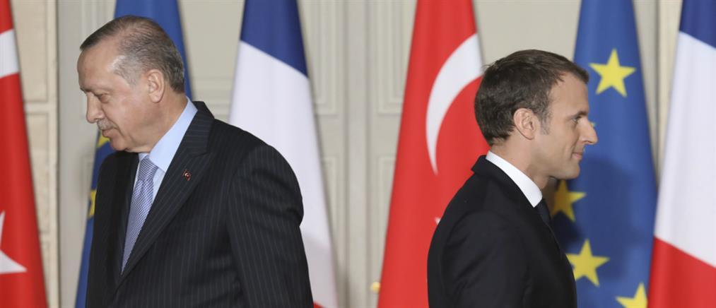 Στα άκρα οι σχέσεις Γαλλίας - Τουρκίας και στη... μέση η ΕΕ και το NATO