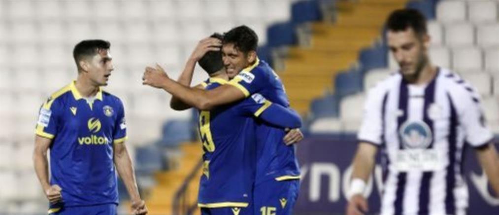 Απόλλων Σμύρνης - Αστέρας: Ο Μπαράλες έκρινε το ματς