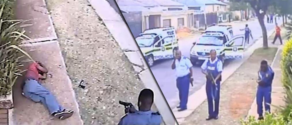 Βίντεο ντοκουμέντο: Εν ψυχρώ δολοφονία υπόπτου από αστυνομικούς