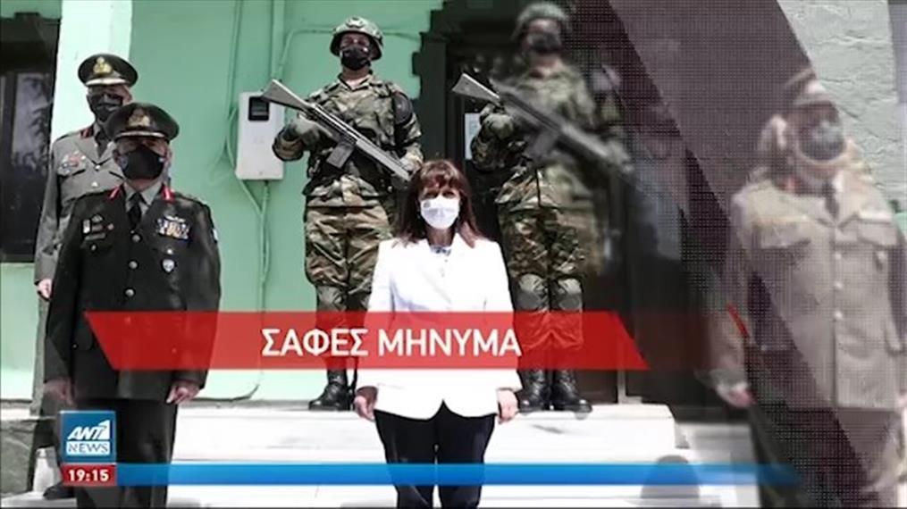 Ηχηρά μηνύματα στην Τουρκία ότι η Ελλάδα δεν δέχεται απειλές