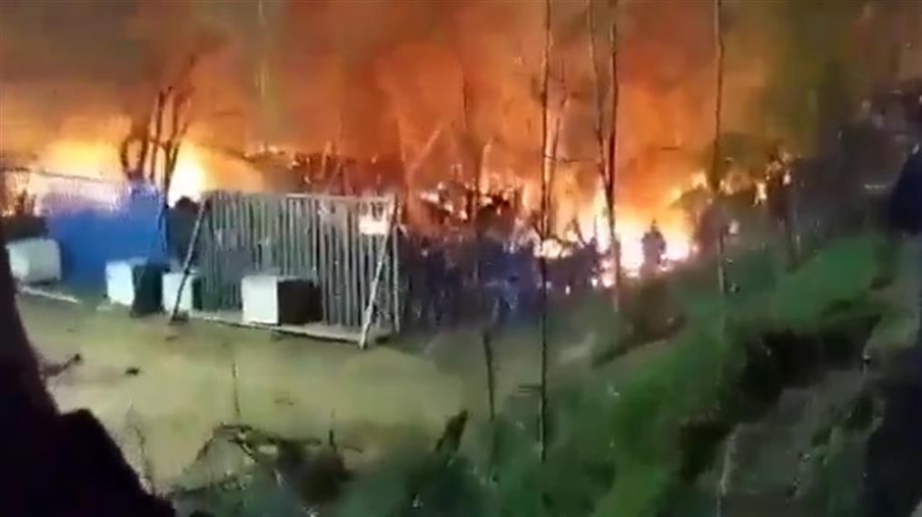 Καστανιές: Μεγάλη φωτιά στην τουρκική πλευρά των συνόρων