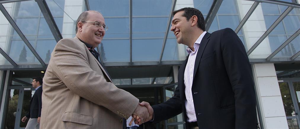 Τσίπρας - Φίλης ενώπιος ενωπίω στο Πολιτικό Συμβούλιο