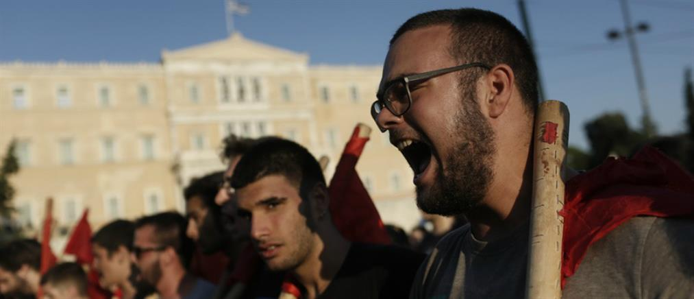 Διαδηλώσεις φοιτητών για το άσυλο στα Πανεπιστήμια