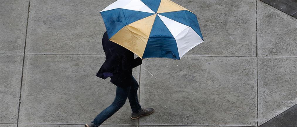 Καιρός: μπόρες και καταιγίδες την Πέμπτη