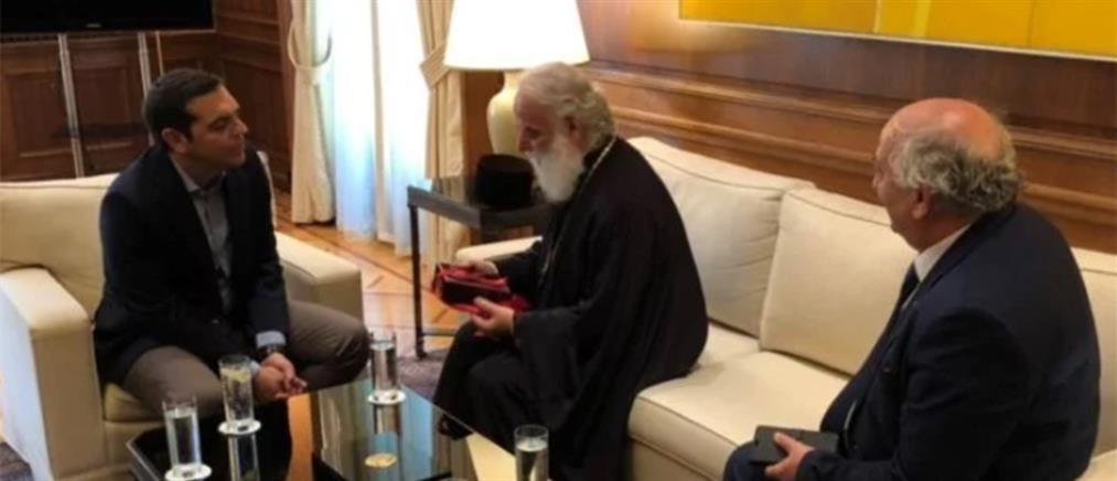 Στο Μαξίμου ο πατριάρχης Αλεξανδρείας