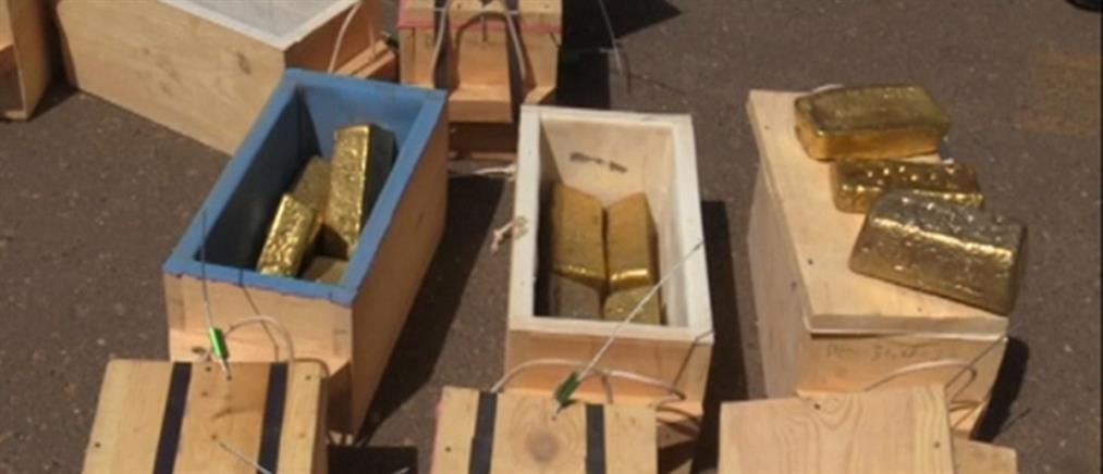 """""""Χρυσή"""" κατάσχεση στο Σουδάν (βίντεο)"""
