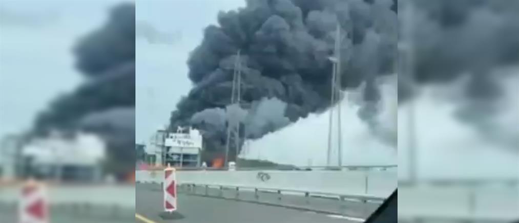 Λεβερκούζεν: Ισχυρή έκρηξη σε εργοστάσιο (εικόνες)