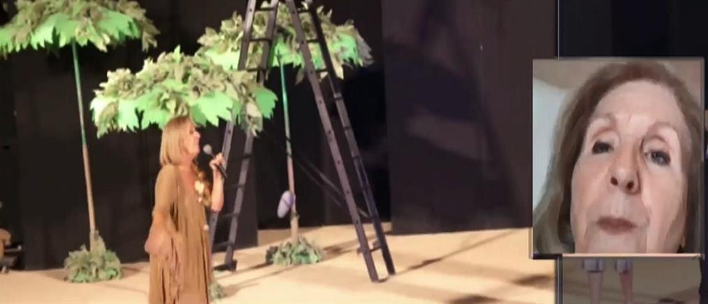 Καταγγελία της Κάρμεν Ρουγγέρη μέσω ΑΝΤ1 για εξαπάτηση ηθοποιών (βίντεο)